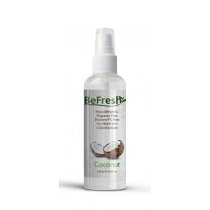 BeFresh, Натуральный дезодорант-спрей для тела с экстрактом кокоса, 100 мл