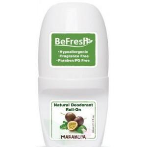 BeFresh, Натуральный роликовый дезодорант для тела Мята и травы, 50мл