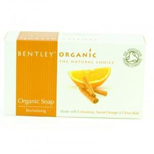 Bentley Organic, Органическое мыло «Оживляющее», 150 г