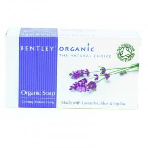 Bentley Organic, Органическое мыло «Увлажняющее и успокаивающее», 150 г