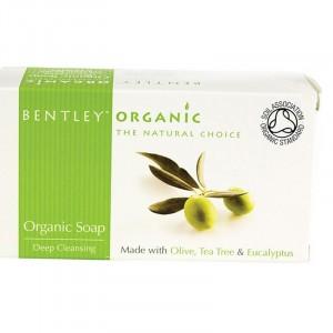 Bentley Organic, Органическое мыло «Глубокой очистки», 150 г