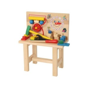 Bino, Деревянный стол с часами