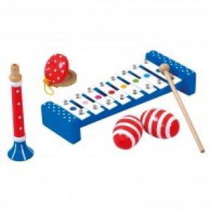 Bino, Набор музыкальных инструментов