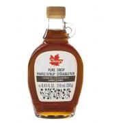 Cleary's, Чистый канадский Кленовый Сироп ТЕМНЫЙ, Бутылка LEONE, CANADA #2 AMBER, 250 мл