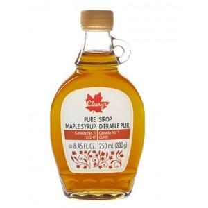 Cleary's, Чистый канадский Кленовый Сироп СВЕТЛЫЙ, Бутылка LEONE, CANADA #1 LIGHT, 250 мл