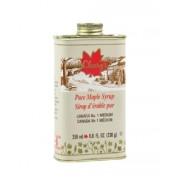 Cleary's, Чистый канадский Кленовый Сироп СРЕДНИЙ, Металлическая фляга, CANADA #1 MEDIUM, 250 мл