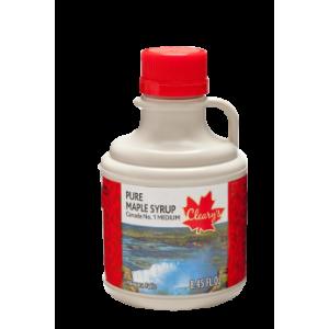 "Cleary's, Чистий канадський Кленовий Сироп СЕРЕДНІЙ, Сувенірний глечик ""NIAGARA FALLS"", CANADA # 1 MEDIUM, 250 мл"