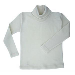 Cosilana, Гольф дитячий з шелко-вовни (30% шовк, 70% органічна мериносова шерсть), Колір: Натуральний