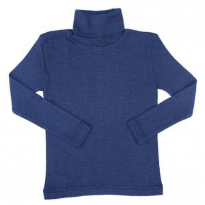 Cosilana, Гольф детский из шелко-шерсти (30% шелк, 70% органическая мериносовая шерсть), Цвет: Цветной