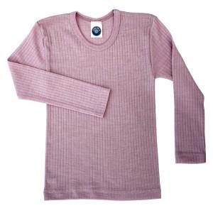 """Cosilana, Кофта с длинным рукавом детская """"тройное качество"""" (45% хлопка, 20% шелка, 35% шерсти), Цвет: Розовый"""