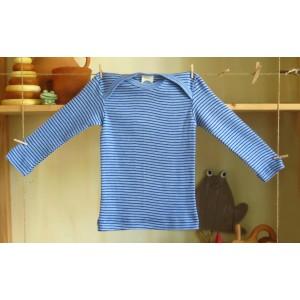Cosilana, Кофточка з довгим рукавом з 100% органік бавовни, Колір: Сині смуги