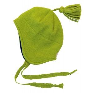 Disana, Шапочка для малыша из сваляной шерсти с кисточкой, 100% шерсть