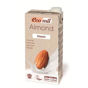 ECOMIL, Органічне рослинне молоко з мигдалю класичне, 1000мл