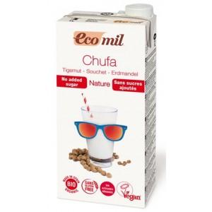 ECOMIL, Органічне рослинне молоко з земляного горіха (Чуфа) без цукру, 1000мл
