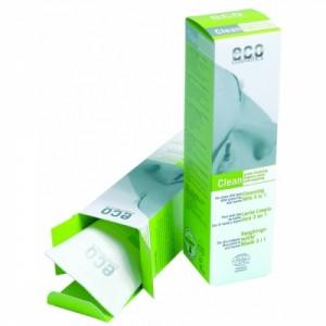 ECO cosmetics, Очищающее молочко 3 в 1 Зеленый чай и мирт, Эко косметикс Cleansing Milk 3 in 1, 125 мл