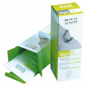 ECO cosmetics, Ночной крем для лица с гранатом и женьшенем, Эко косметикс Night Cream, 50 мл