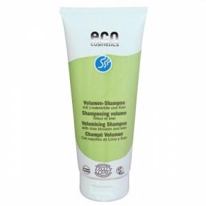ECO cosmetics, Шампунь, придающий объем Липовый цвет и киви, Эко косметикс Volumizing Shampoo, 200 мл