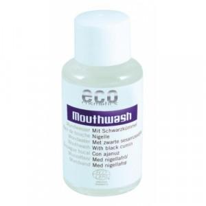 ECO cosmetics, Ополаскиватель для полости рта с экстрактом черного тмина, Эко косметикс Mouthwash, 50 мл