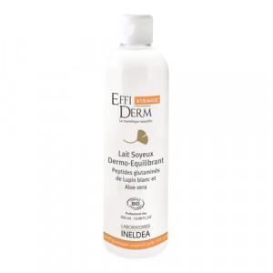 EffiDerm Visage, Очищающее молочко дермо-баланс органическое / Lait Soyeux Dermo-Equilibrant Bio, 300 мл