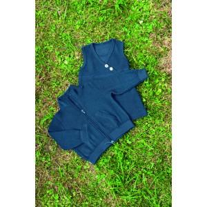 Engel, Жакет на молнии с карманами из 100% шерстяной махровой ткани, цветной