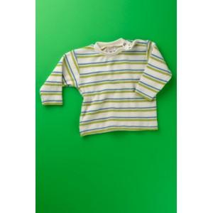 Engel, Цветная кофточка с кнопками на плече, 100% био-хлопок (махра), Цвет: Бежевый/зеленый/голубой