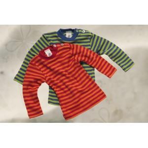 Engel, Цветная кофточка с длинным рукавом пуговицы на плече из шелко-шерсти (30/70), полосатая