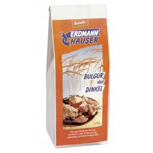 Erdmann Hauser, ОРГАНИЧЕСКИЙ динкель (сорт пшеницы) Булгур помола (более крупный), 500гр