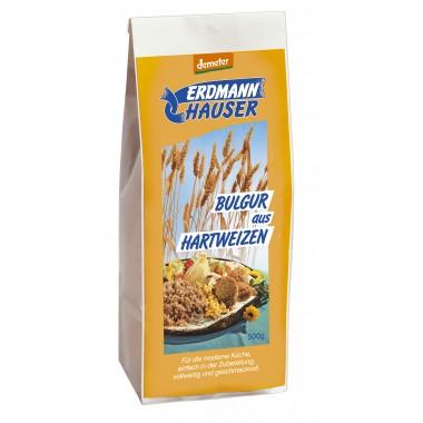 Erdmann Hauser, ОРГАНИЧЕСКАЯ твердая пшеница Булгур помола (более крупный), 500гр