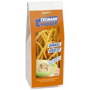 Erdmann Hauser, ОРГАНИЧЕСКИЙ динкель (сорт пшеницы) цельный (измельченная крупа пшеничная), 500гр