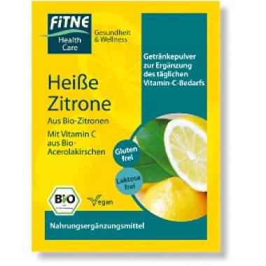 FITNE, Органический порошок для горячего напитка Лимон БЕЗ ГЛЮТЕНА, БЕЗ ЛАКТОЗЫ, 1 шт = 7 г