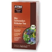 FITNE, Органический чай Горькие шведские травы для улучшения пищеварения, 24 г = 20 пакетиков БЕЗ ГЛЮТЕНА, БЕЗ ЛАКТОЗЫ,  24 г = 20 пакетиков