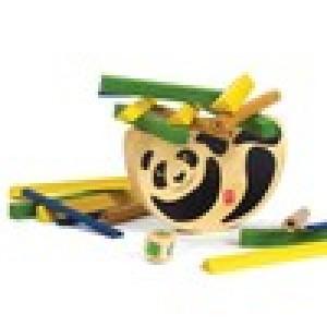 """HAPE,  Деревянная игрушка Головоломка балансир из бамбука """"Pandabo"""" Eco-design, возраст от 3-х до 99 лет"""