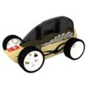 """HAPE, Деревянная игрушка Машинка из бамбука """"Low Rider"""" Eco-design, возраст от 3-х до 99 лет, цвет черный"""