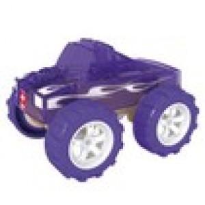 """HAPE, Деревянная игрушка Машинка из бамбука """"Monster Truck"""" Eco-design, возраст от 3-х до 99 лет, цвет фиолетовый"""