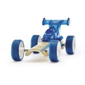 """HAPE, Деревянная игрушка Машинка из бамбука """"DRAGSTER"""" Eco-design, возраст от 3-х до 99 лет, цвет синий"""