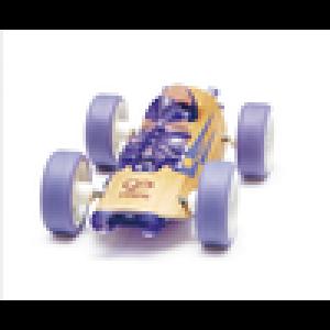 """HAPE, Деревянная игрушка Машинка из бамбука """"Sportster"""" Eco-design, возраст от 3-х до 99 лет, цвет сиреневый"""