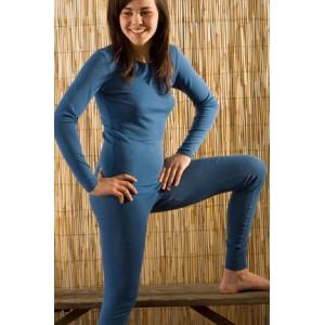 Hocosa, Жіноча кофта з 100% вовни з круглою горловиною, Колір: Блакитний