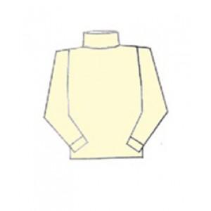 Hocosa, Жіночий гольф з шелко-вовни (30% шовк, 70% органічна мериносова шерсть), Колір: Натуральний