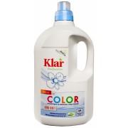 KLAR, КЛАР Органическая жидкость для стирки цветных тканей  30-90° Basis-Sensitive Klar, 2 л = 44 стирки