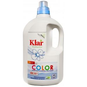 KLAR, Клара Органічна рідина для прання кольорових тканин 30-90 ° Basis-Sensitive Klar, 2 л = 44 прання