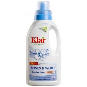 KLAR, КЛАР Органическое средство для стирки шерсти и шелка 20-40° Feines-Wolle Klar, 500 мл = 50 стирки