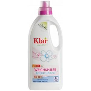 KLAR, Клара Органічний кондиціонер для білизни Без запаху, 1000мл (40 застосувань)