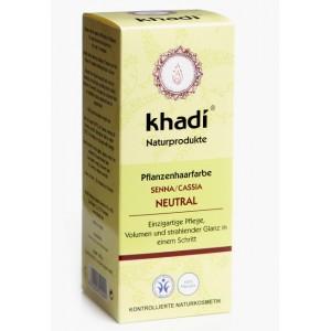 Khadi, Органическая маска-кондиционер для волос Натуральная хна, 100 г