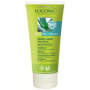Logona, БИО-Кондиционер для нормальных волос для блеска и объема с Алоэ и Вербеной (для всей семьи), 100 мл