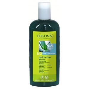 Logona, БИО-Шампунь для нормальных волос с Алоэ и Вербеной (для всей семьи), 250 мл