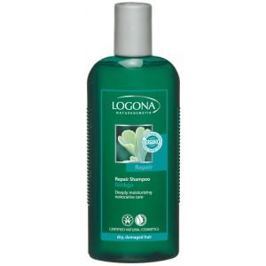 Logona, БИО-Шампунь восстанавливающий для сухих и поврежденных волос Гинкго Билоба, 250 мл