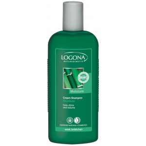 Logona, БИО-Крем-шампунь для ломких ослабленных волос Бамбук, 250 мл