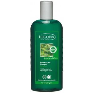 Logona, БИО-Шампунь для нормальных волос, для ежедневного использования Крапива, 250 мл