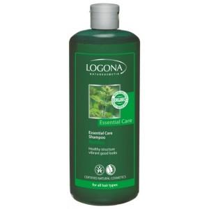 Logona, БИО-Шампунь для нормальных волос, для ежедневного использования Крапива, 500 мл