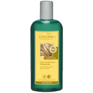 Logona, БИО-Шампунь для окрашенных светлых волос Ромашка, 250 мл